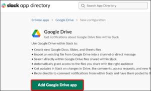 Add Google Drive App; Source: alphr.com