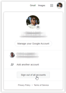 How to Change the Default Account on Google
