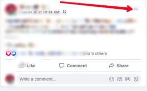 Click the three-dots icon