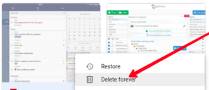 Select Delete Forever; Photo by About Device