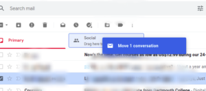 Drag and drop email; Photo by About Device